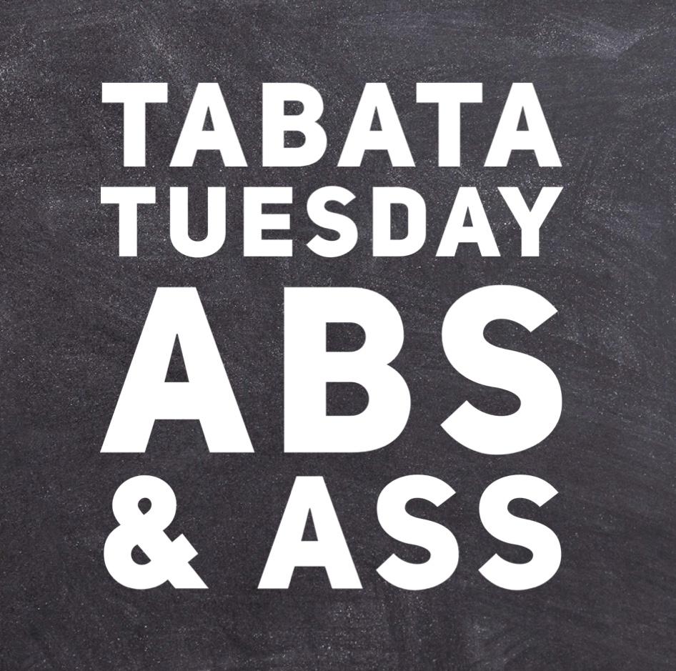 TABATA abs & ASS…