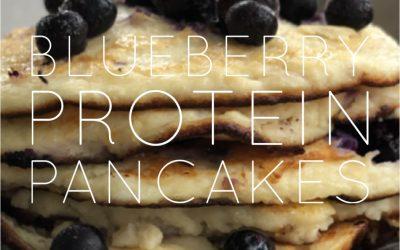 Pannkakor med BLÅBÄR & protein…