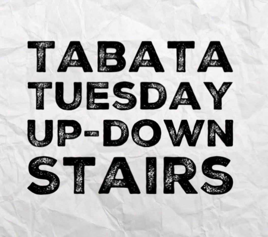 TABATA – upp & ner…