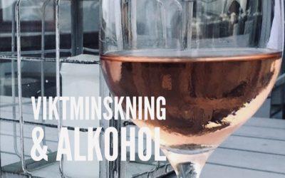 Tankar kring VIKTMINSKNING och alkohol…